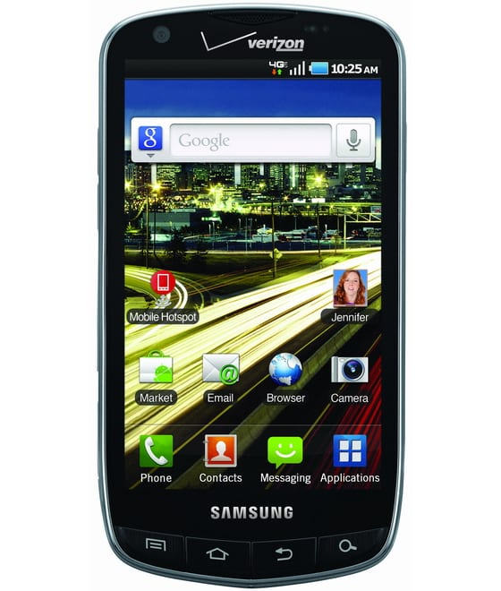 Samsung 4G LTE, de la mano de Verizon