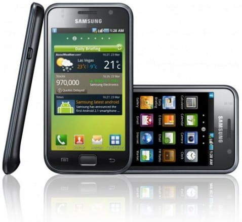 Samsung Galaxy S1 478x439 Samsung Galaxy S y Galaxy Tab llegan a Colombia