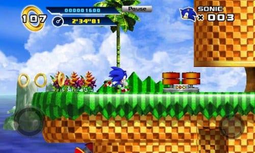 Sonic 4 Episodio 1 todo un clásico para Android