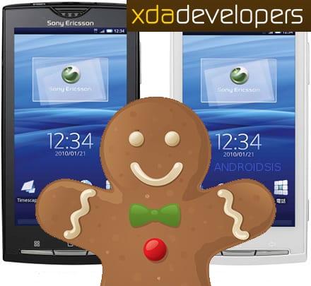Sony Ericsson Xperia X8 Gingerbread actualizacion