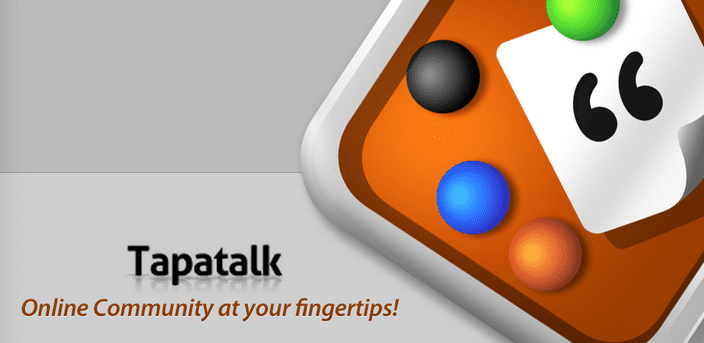 Tapatalk Banner