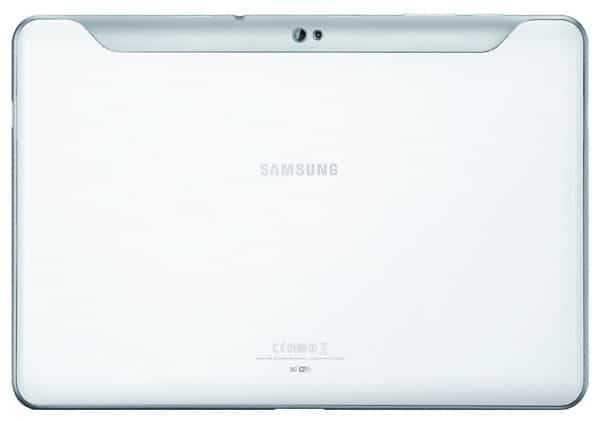 Trasera Blanca Galaxy Tab 10.1