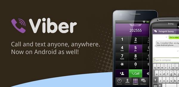 Alt, captura de Viber en Android