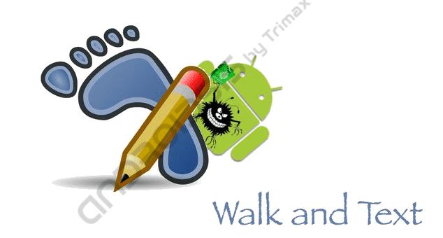 Walk&Text app para Android con Malware