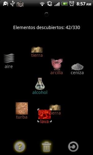 Borrar elemento