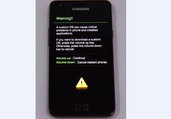 Samsung Galaxy R download mode