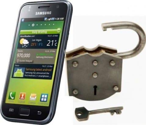 Samsung Galaxy S liberado de sus cadenas