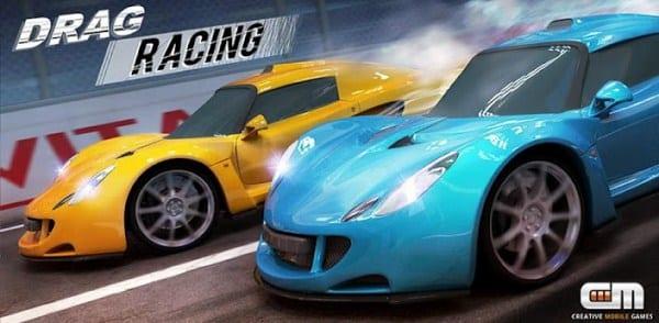 Compite contra otros coches en Drag Racing