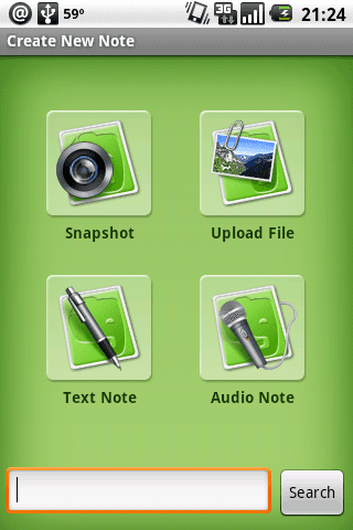 Evernote disponible para Android