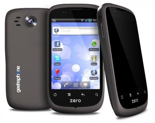 GeeksPhone Zero, Android 2.3 en un móvil español