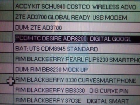 HTC Desire. Otro Android mas de la mano de Verizon