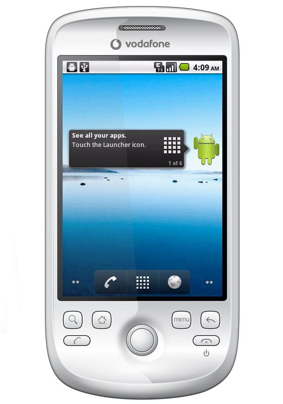 HTC Magic 32B con Froyo 2.2.1 ROM oficial