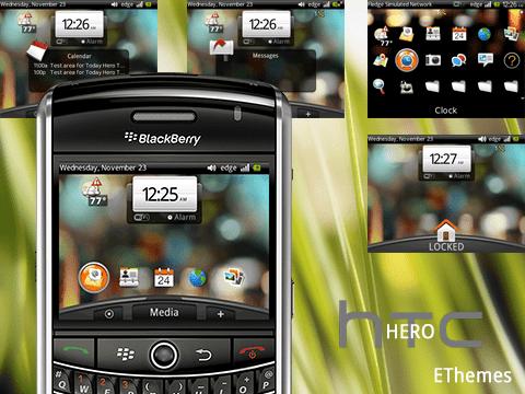 Skin HTC Sense para BlackBerry