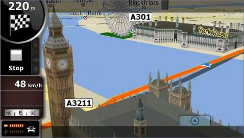 Igo Amigo, nuevo navegador 3D para Android