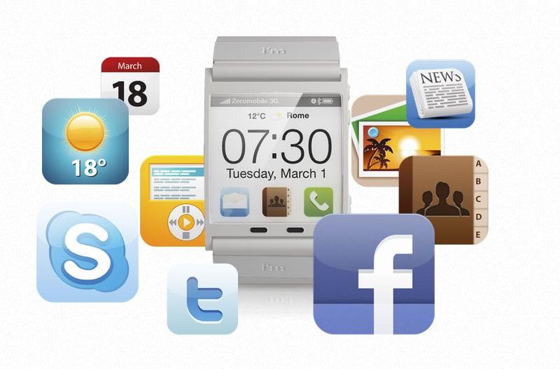 I'm Watch: Reloj de pulsera... con Android