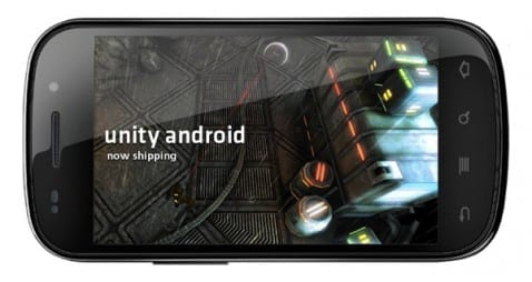 Unity Pro for Android