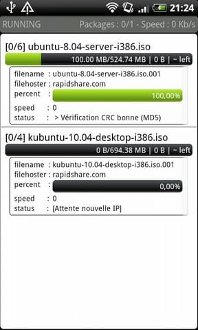 JDownloader RC, controla las descargas desde tu Android
