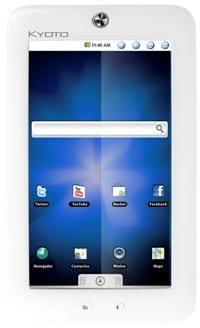 La compañía mexicana Kyoto lanza su propio tablet Android