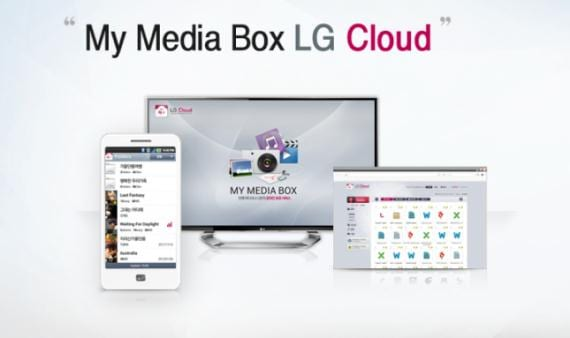 LG Cloud para tres dispositivos