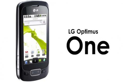 LG Optimus One se actualiza a Android 2.3 Gingerbread