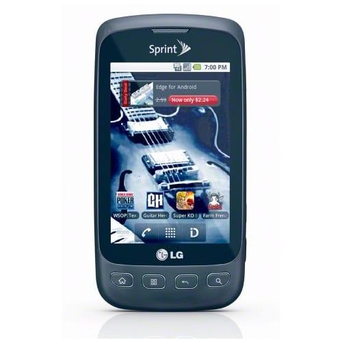Alt, Imagen del LG Optimus S