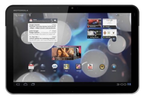 Motorola Xoom se actualiza a Android 3.1 Honeycomb en España