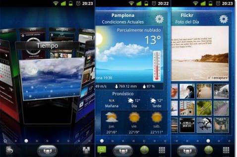 SPB Shell, modifica la interfaz de Android con animaciones e imágenes 3D