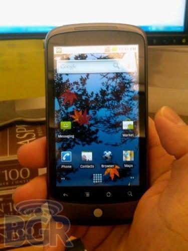 Nexus One, el móvil de Google