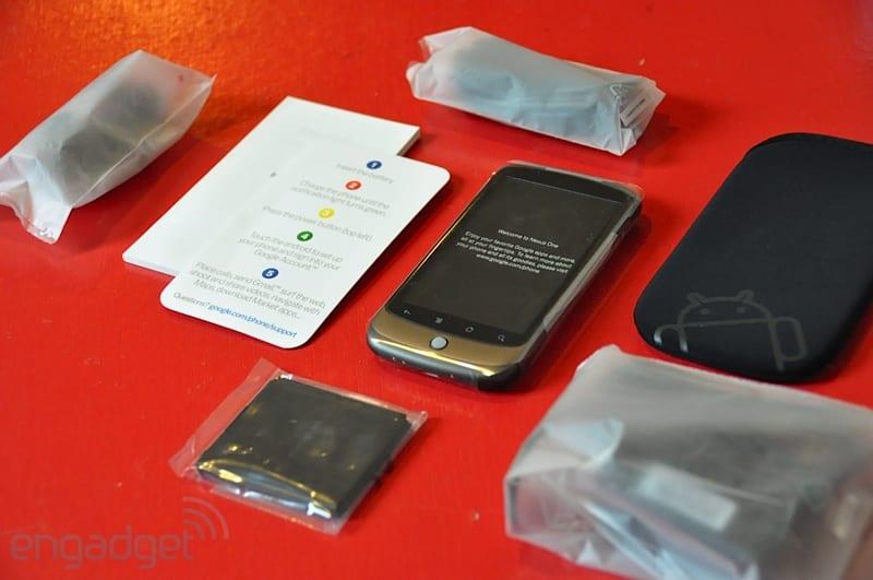 Review del NexusOne, con imágenes y video