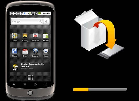 nexusoneupdate Google lanza Android 2.2.2 para el Nexus One, actualízate