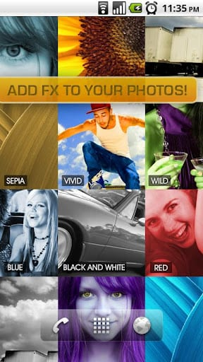 Crea tu propio collage animado en Android con PhotoWall Live Wallpaper