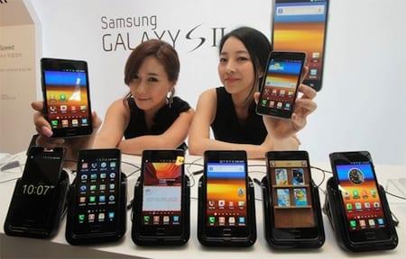 Samsung Galaxy S2, el smartphone con hardware gráfico más rápido