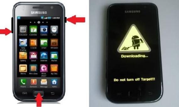 Galaxy S modo Dowload