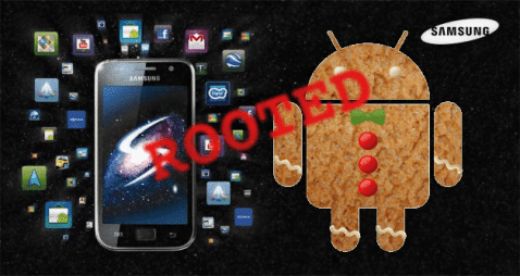 Samsung Galaxy S con Gingerbread ROOT