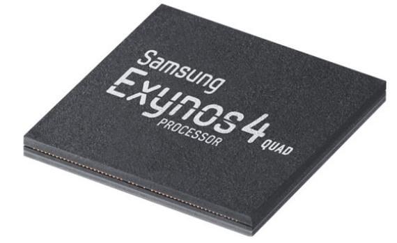 Nuevo procesador de Samsung Galaxy S3, Exynos 4 Quad