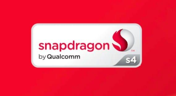 Nuevos procesadores de QualComm S4 para dispositivos móviles