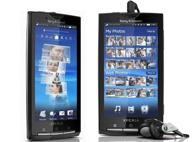 Sony X10 full flash with usb cable no box