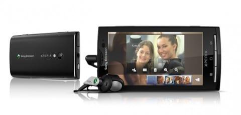 Sony Ericsson Xperia X10, presentado oficialmente