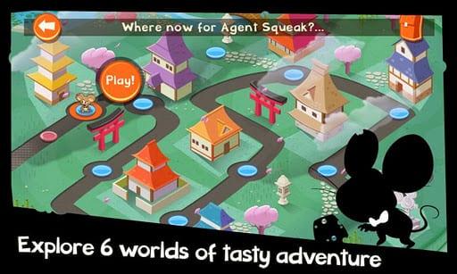 SpyMouse es un juego muy adictivo que trae EA para Android