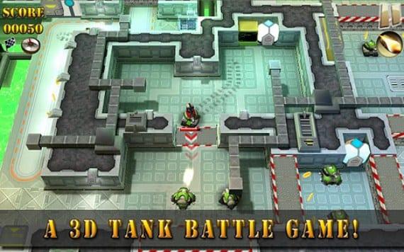 Tank Riders un divertido juego para disfrutar en Android