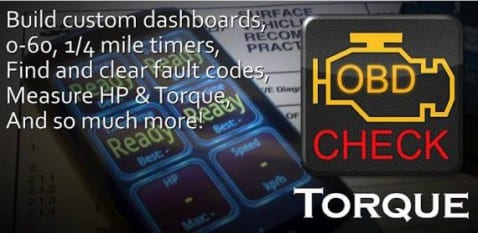 Captura de Play store aplicación Torque