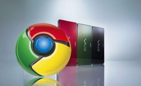 Rumor: Sony podría lanzar netbook Vaio con Google Chrome OS
