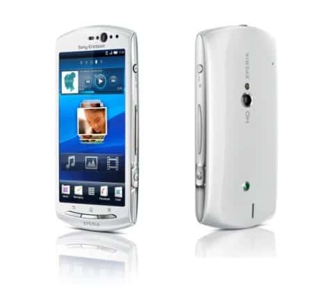 Sony Ericsson Xperia Neo V llegará con Android 2.3.4 Gingerbread